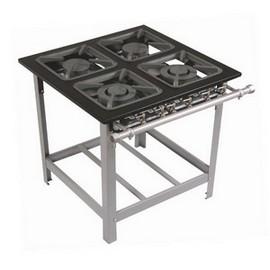 Locar fogão industrial de aço inox