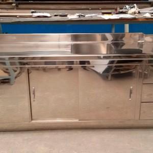 Estante em aço inox para cozinha industrial