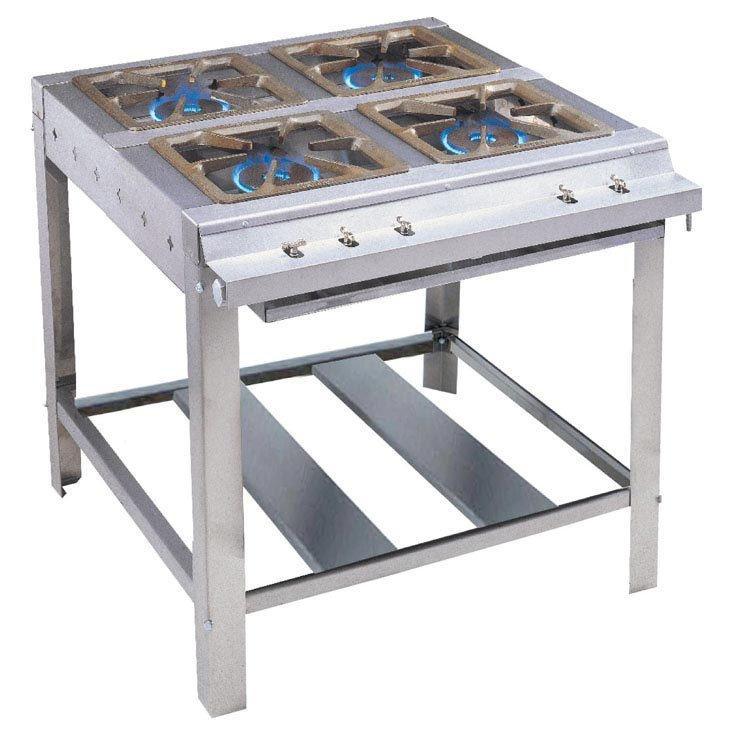 Locação de fogão industrial 4 bocas em SP